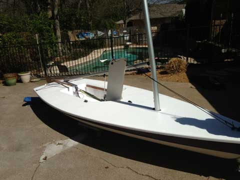 Laser, Early 1990's sailboat