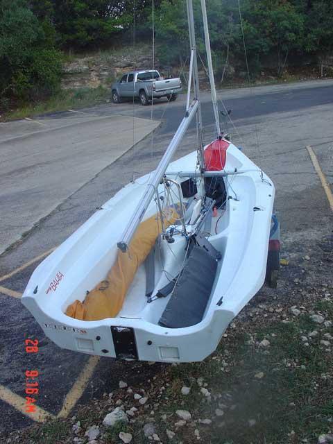Laser Bahia 2007 sailboat