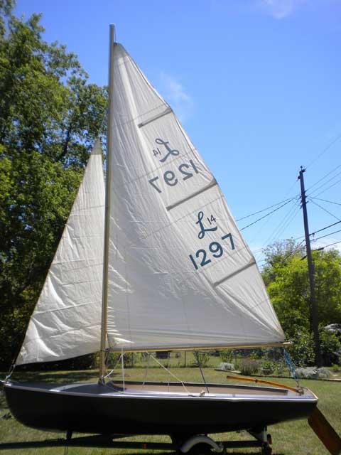 Lido 14, 1962, Waco, Texas sailboat