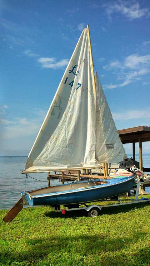 Lido 14, 1960, Livingston, Texas sailboat