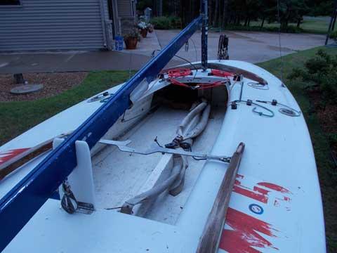 Melges M-16 Scow, 1983 sailboat