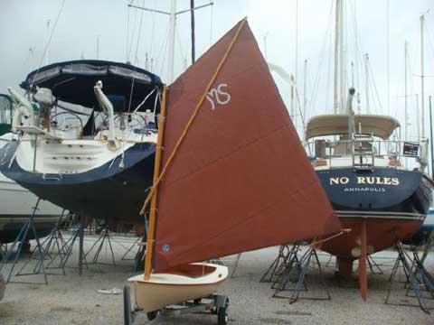 Melonseed Skiff 13', 1996 sailboat