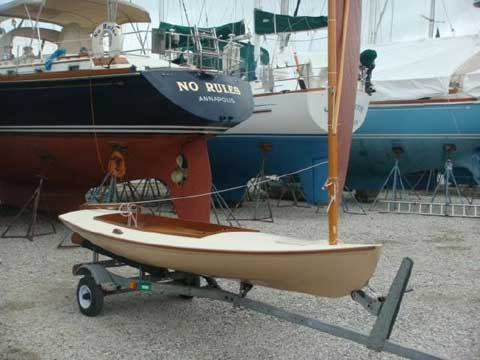 Melonseed Skiff 13', 1996, Annapolis, Maryland, sailboat ...