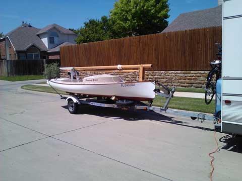 Menger Catboat 15 ft., 2003 sailboat