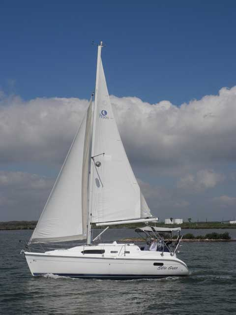 MFG-2001, Model-2002, 30 ft., sailboat