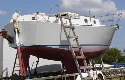 Miller 26 ft. Cutter, 1984, DeRidder, Louisiana sailboat