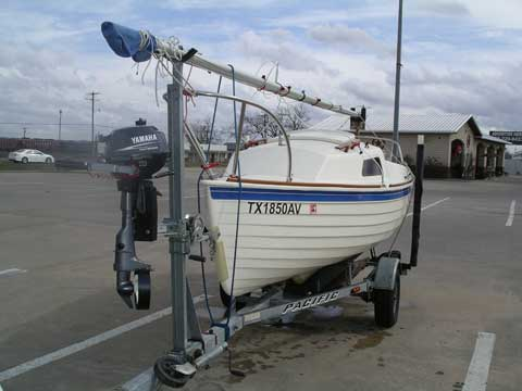 Montgomery 15, 2003, Bryan, Texas sailboat