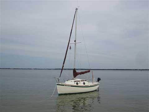 Montgomery 17, 2008, Morehead City, North Carolina sailboat