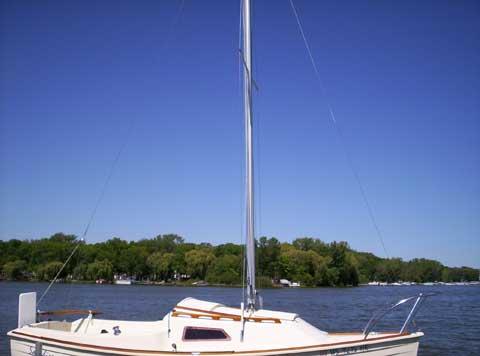 Montgomery 17, 1983 sailboat