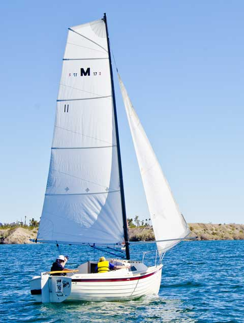 Montgomery 17 2012 Southern California Sailboat For