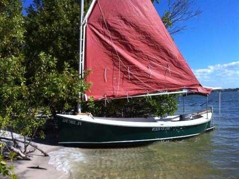 Florida Bay Mud Hen, 1984, Stuart, Florida sailboat