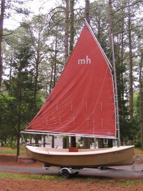 Mudhen, 1983, Long Neck, Delaware sailboat