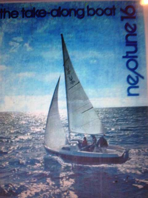 Neptune 16, 1977 sailboat