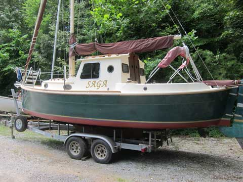 Nimble Arctic 25, 1989 sailboat