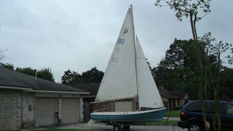 O'day 15, North Houston, Texas sailboat