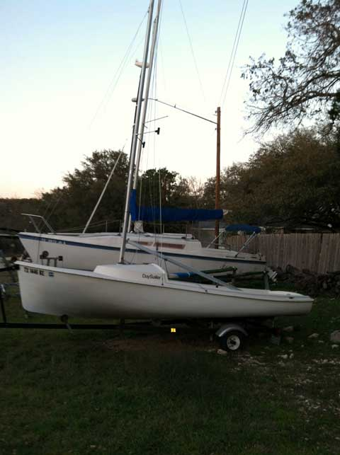 O'Day Daysailer II, 1984, Lakeway, Texas sailboat