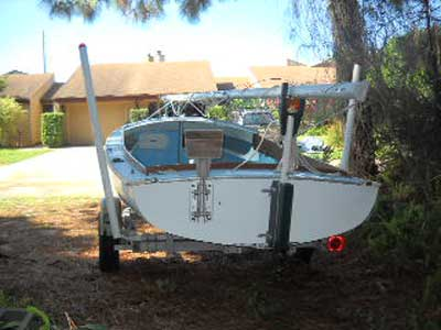 O'Day Day Sailor, 1966, 17' sailboat