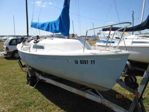 O'Day Mariner 2+2, 1973, Lake Charles Yacht Club, Louisiana sailboat