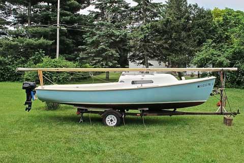 O'day Mariner, 19 ft., 1976 sailboat