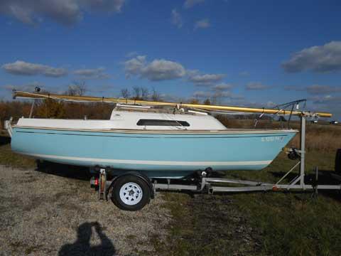 Oday 20, 1975 sailboat