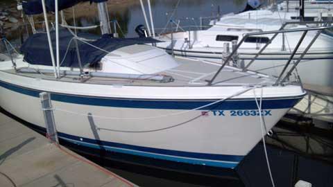 O'day 25 Tall Rig, 1983, Lake Conroe, Texas sailboat