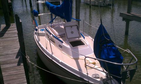 O'day 25, 1976, Clear Lake, Texas sailboat
