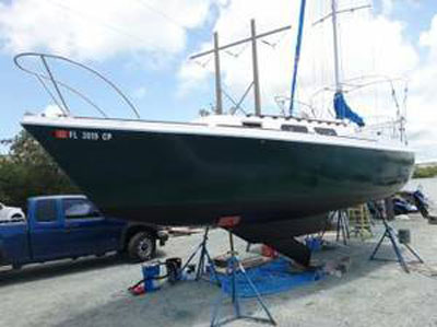 O Day 25 1977 St Augustine Florida Sailboat For Sale