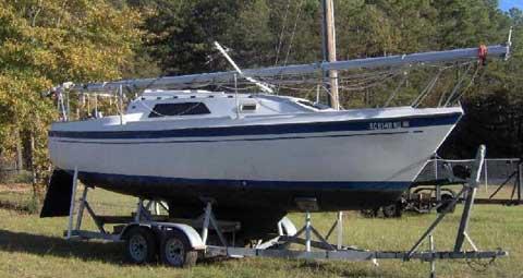 O'Day 26, 1985, Starr, South Carolina sailboat