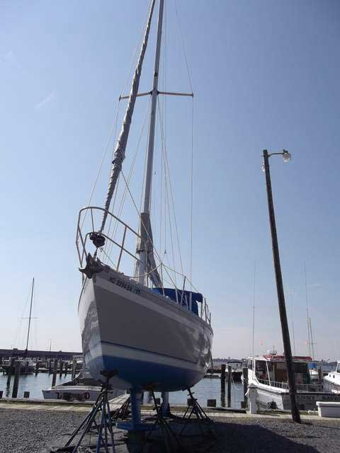 O Day 302 1988 30 Ft Cambridge Maryland Sailboat For