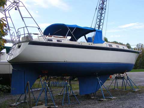 O Day 37 1981 Oswego New York Sailboat For Sale From