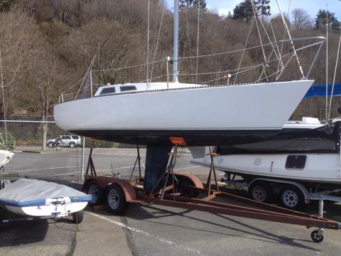 Olson 25, 1985 sailboat