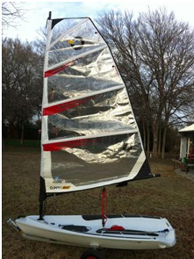 O'pen Bic, 2008, Allen, Texas sailboat