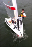 2008 O'pen Bic sailboat