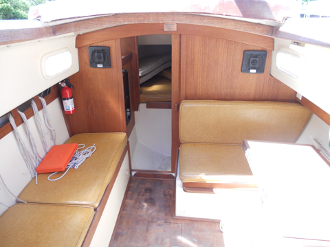 Pacific Dolphin Sloop, 24 ft., 1977 sailboat