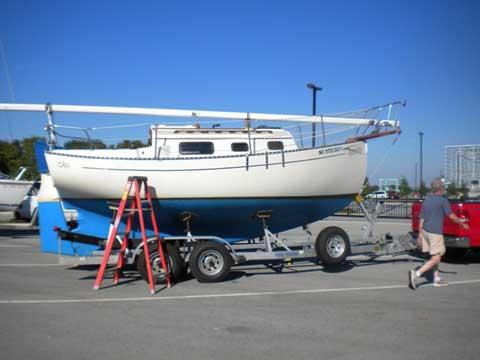 Pacific Seacraft Flicka 20', 1981, Winston-Salem, North Carolina sailboat