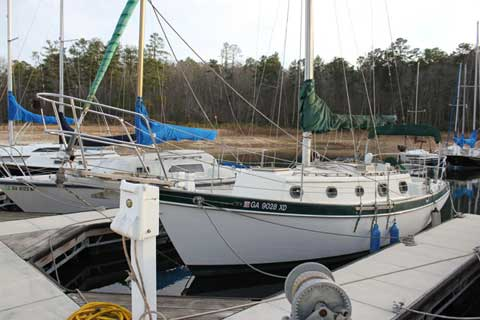 Pacific Seacraft Orion 27 MK II, 1985, Augusta, Georgia sailboat