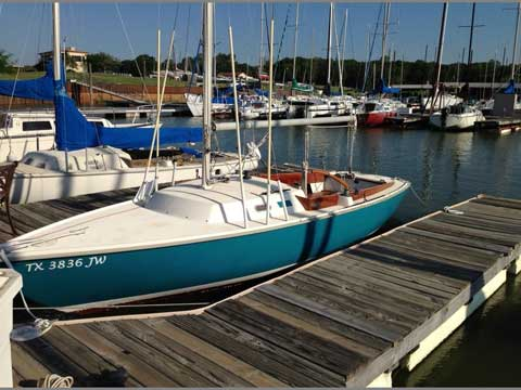 Pearson Ensign 22.5', 1964 sailboat