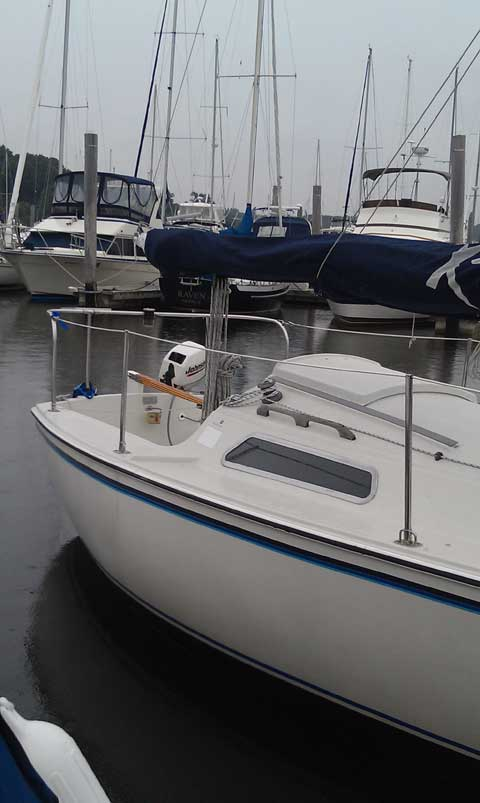 Pearson 23C Catboat, 1982 sailboat