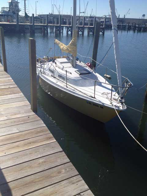 Pearson 26 1979 sailboat
