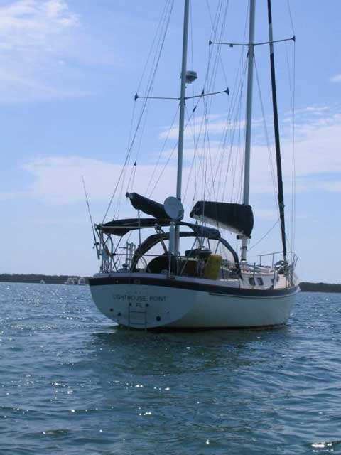 Pearson 424 Ketch 1980 Ft Lauderdale Florida Sailboat