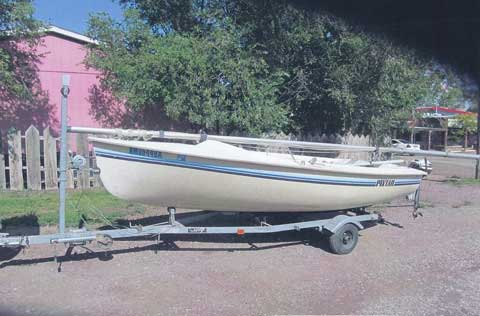 Pintail 14, 1988 sailboat