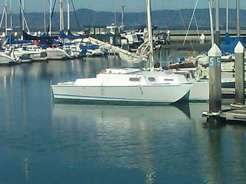 Piver Encore, 28 ft sailboat