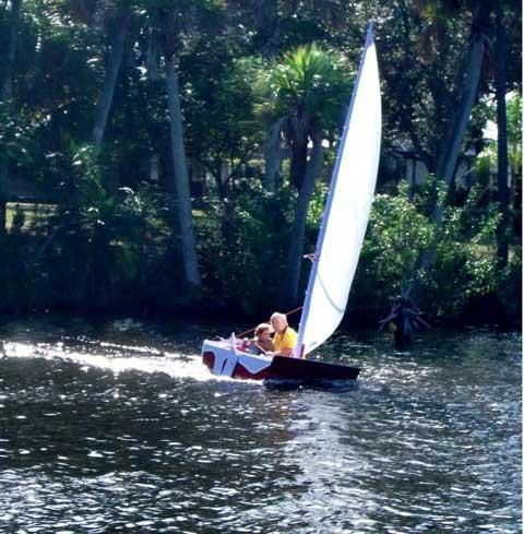 Polysail sailboat