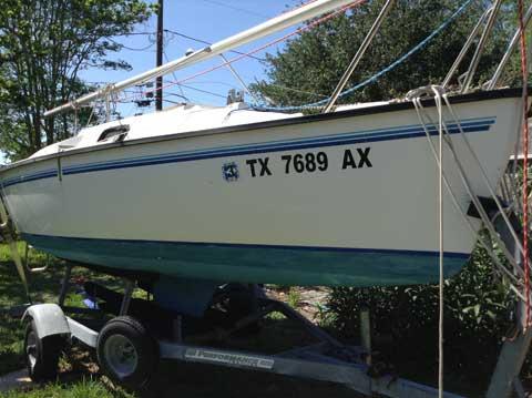 Precision 16.5, 1995, Corpus Christi, Texas sailboat