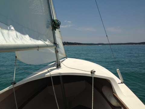 Precision DaySailer, 17ft. sailboat