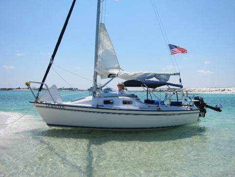 Precision 18, 2005, Baton Rouge, Louisiana sailboat