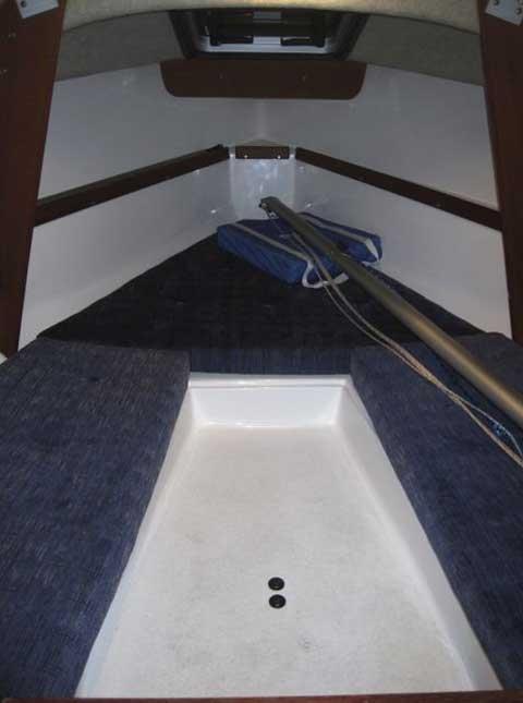 Precision 18, 2009 sailboat