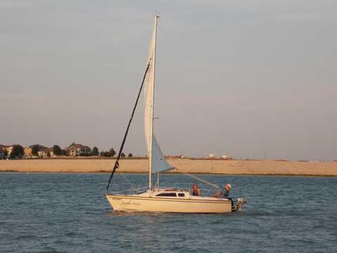 Precision 21, 1994 sailboat