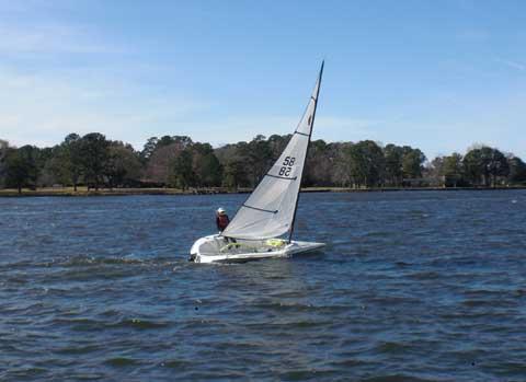 Raider sport, 2003, Lake Conroe, Texas sailboat