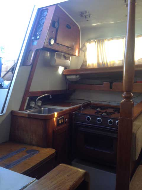 Ranger 33, 1972 sailboat